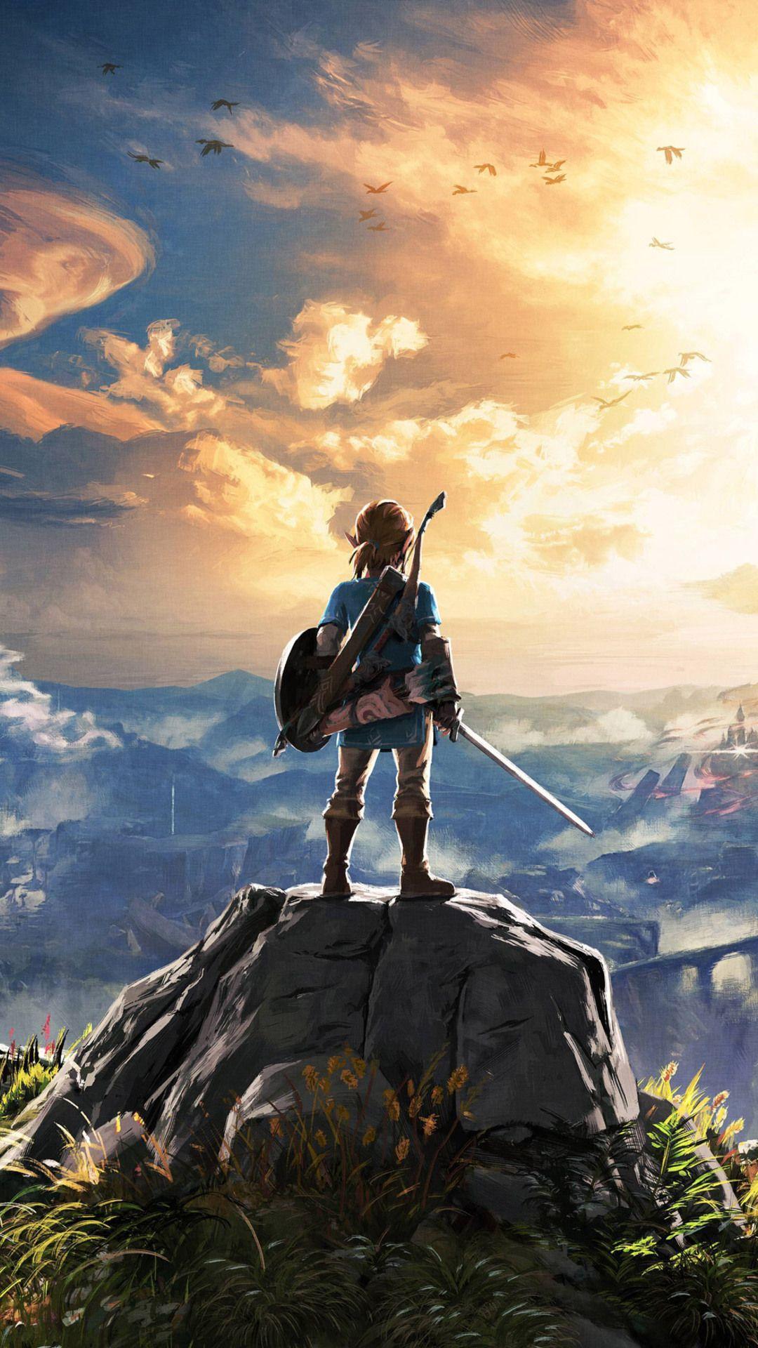 Zelda: Breath Of The Wild Wallpapers - Wallpaper Cave