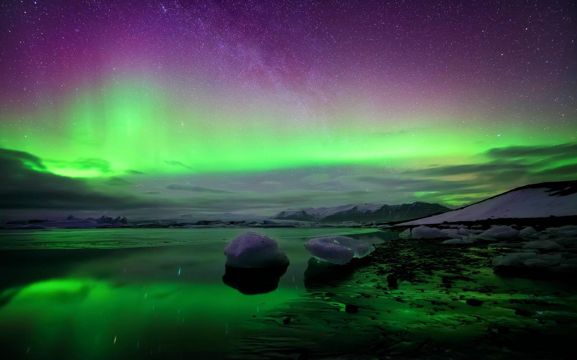 Wide HD Northern Lights HD Wallpapers