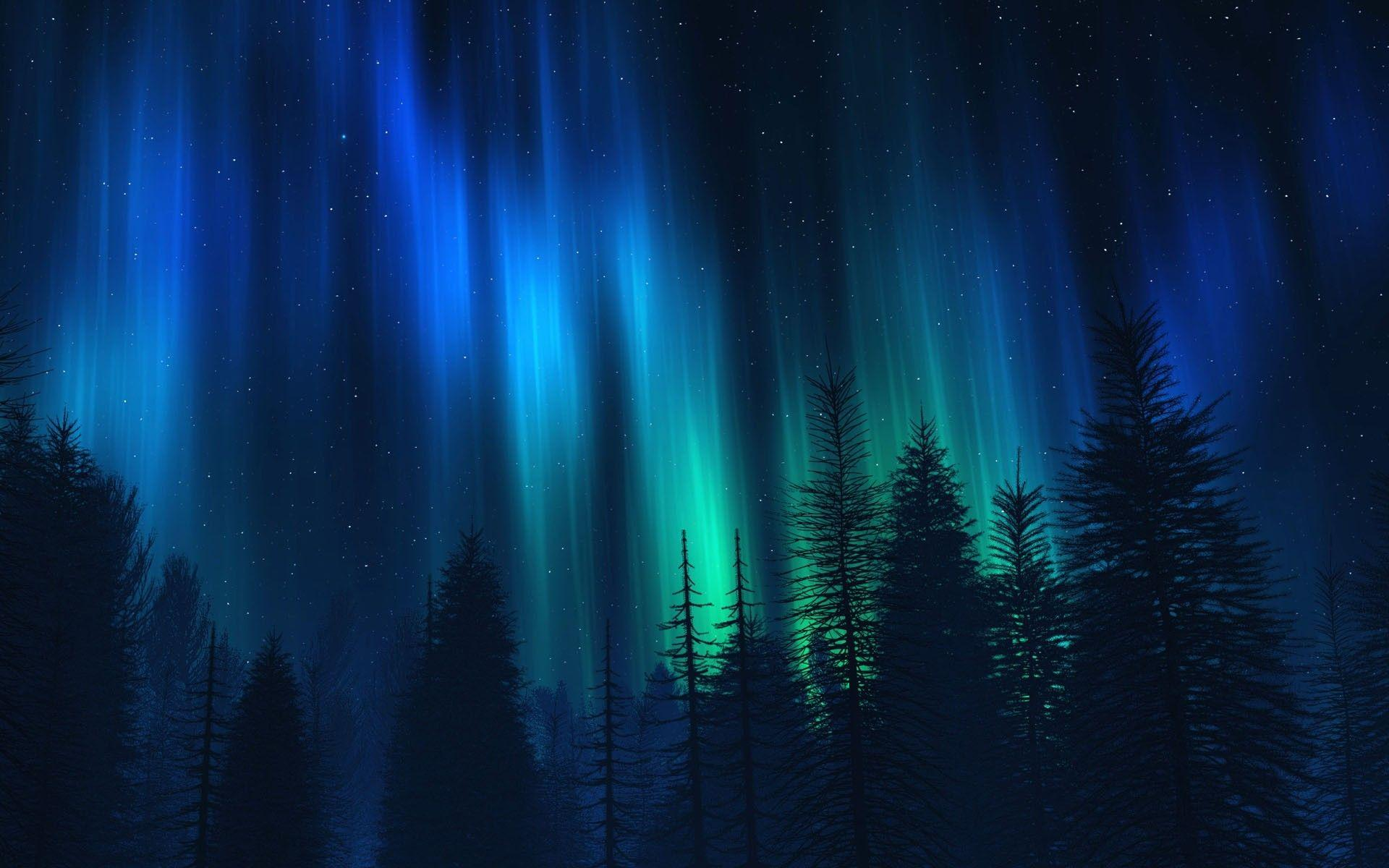 Northern Lights Wallpaper Hd