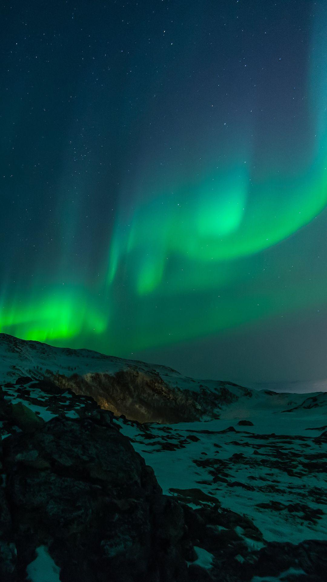Northern Lights Sky HD Wallpapers For Your Mobile