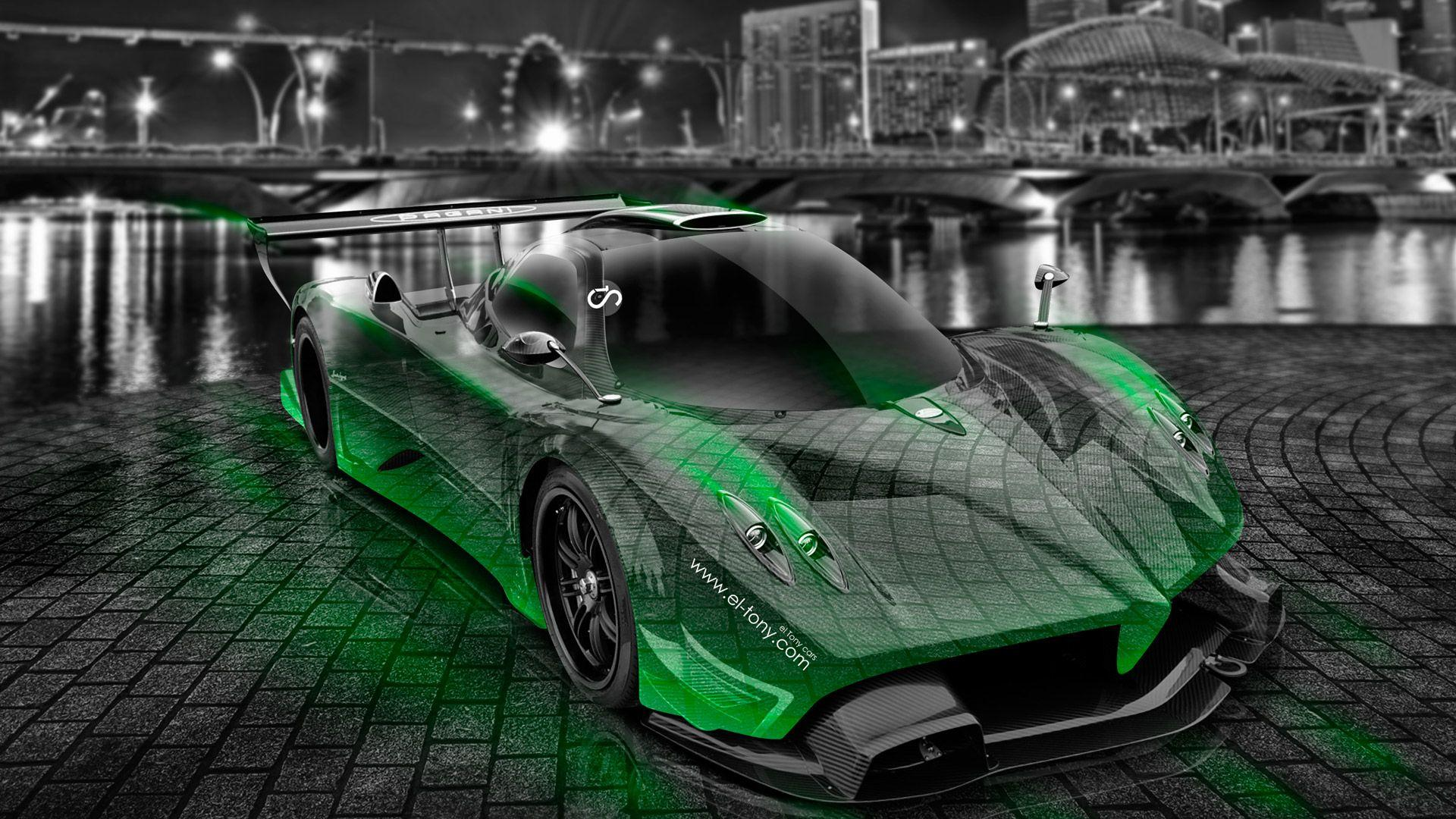Pagani Zonda R Crystal City Car 2014 | El Tony