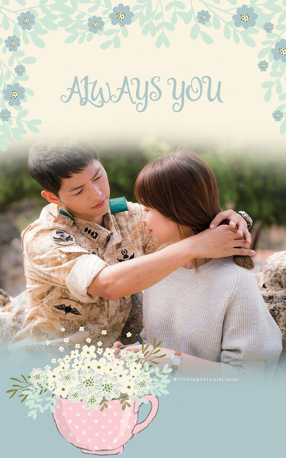our lady peace!: 'Descendants Of The Sun' Phone Lock Screen