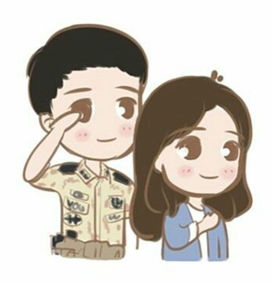 I found the cutest collection of francs for Descendants of the Sun