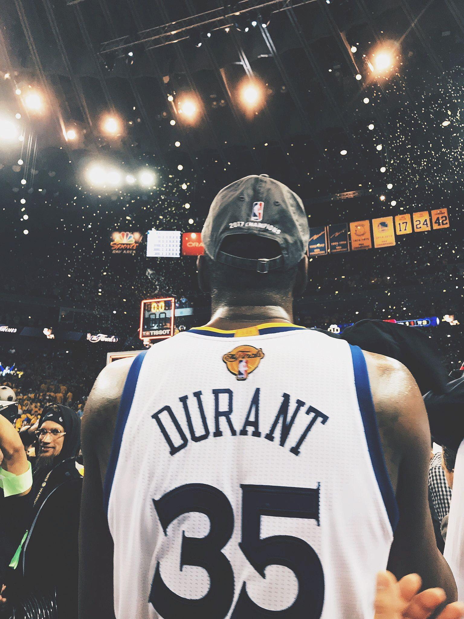 Kevin Durant NBA Champion Golden State Warriors Nike Wallpaper .