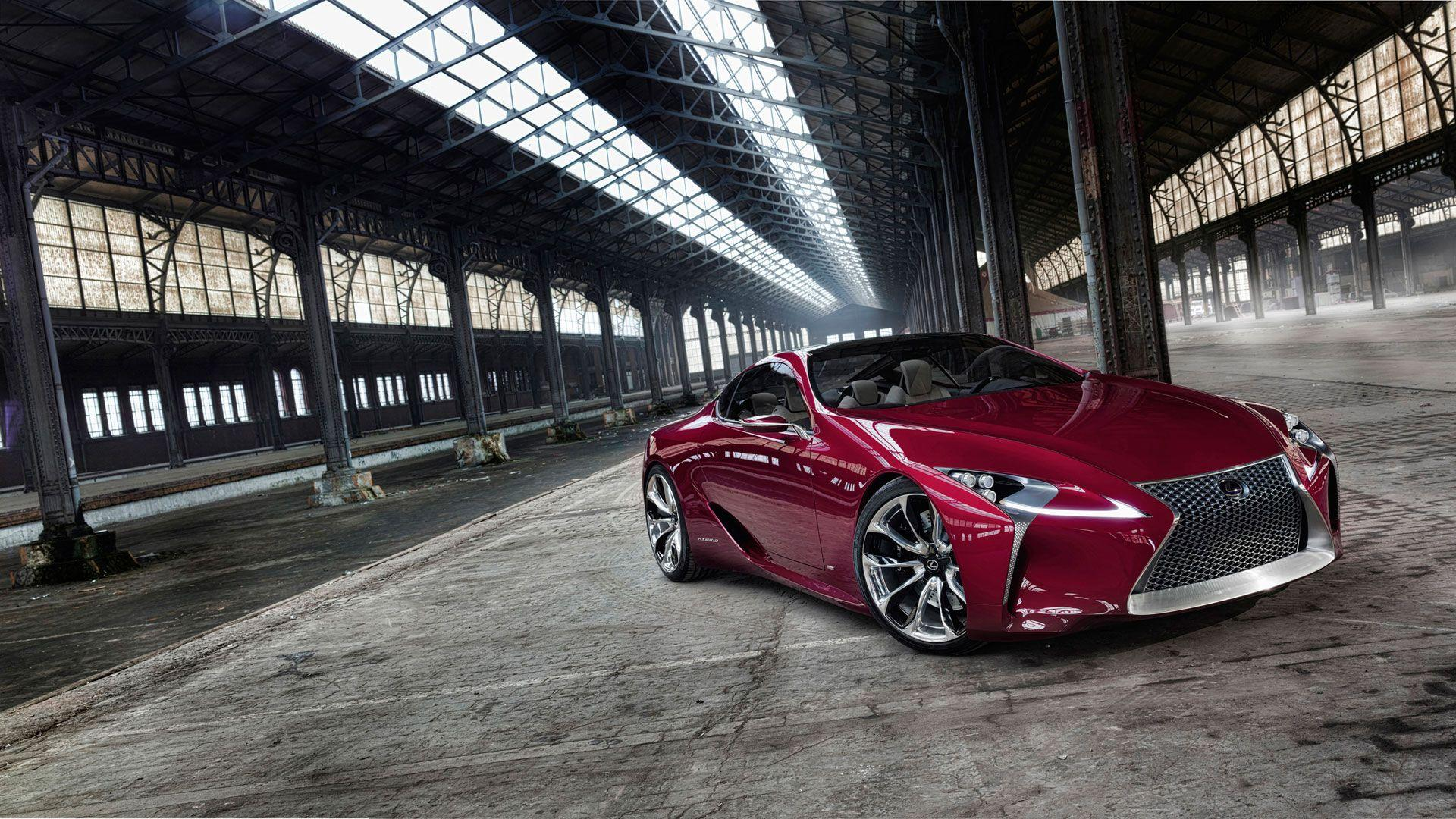 Lexus LC Wallpapers