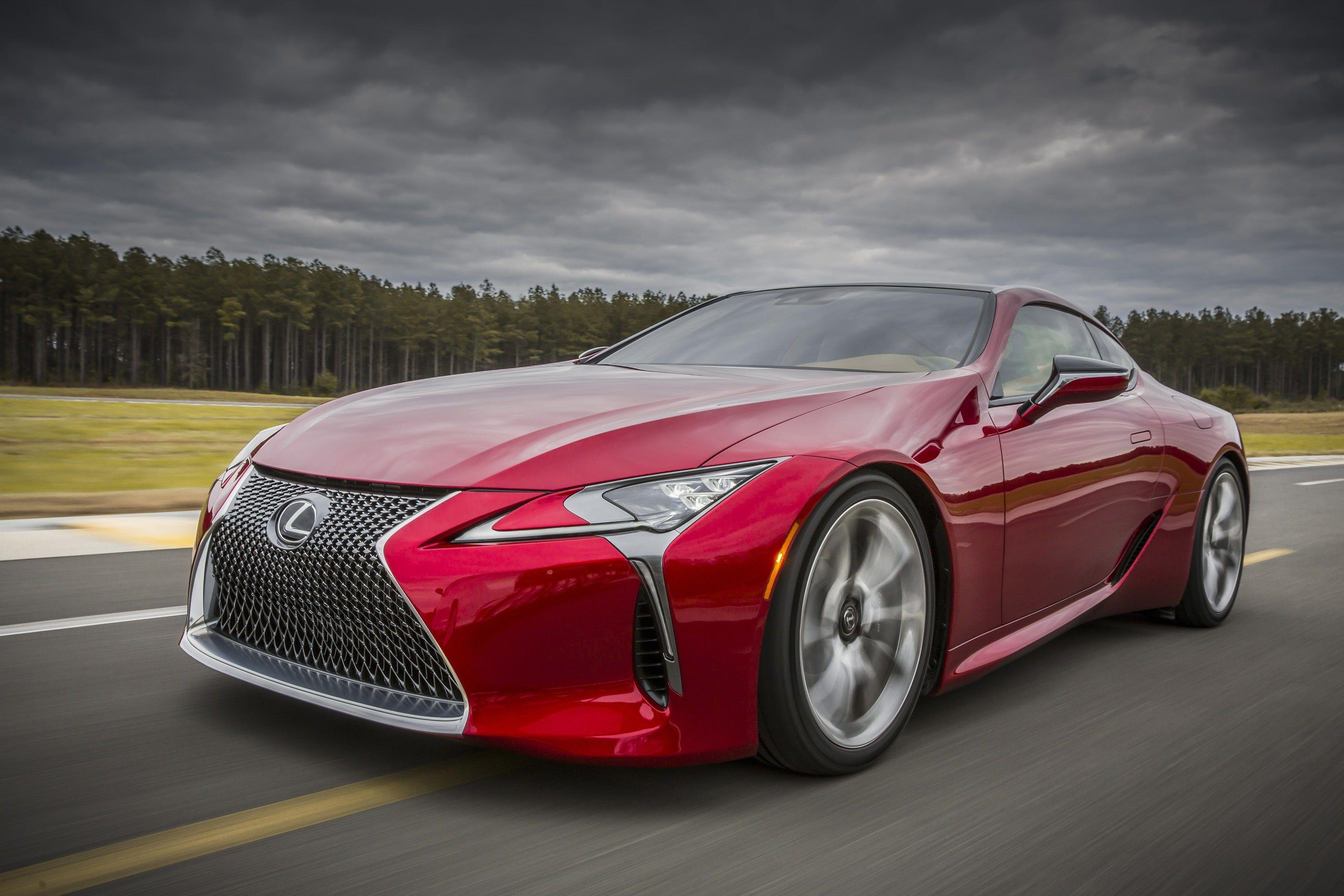 lexus lc 500 wallpapers and backgrounds