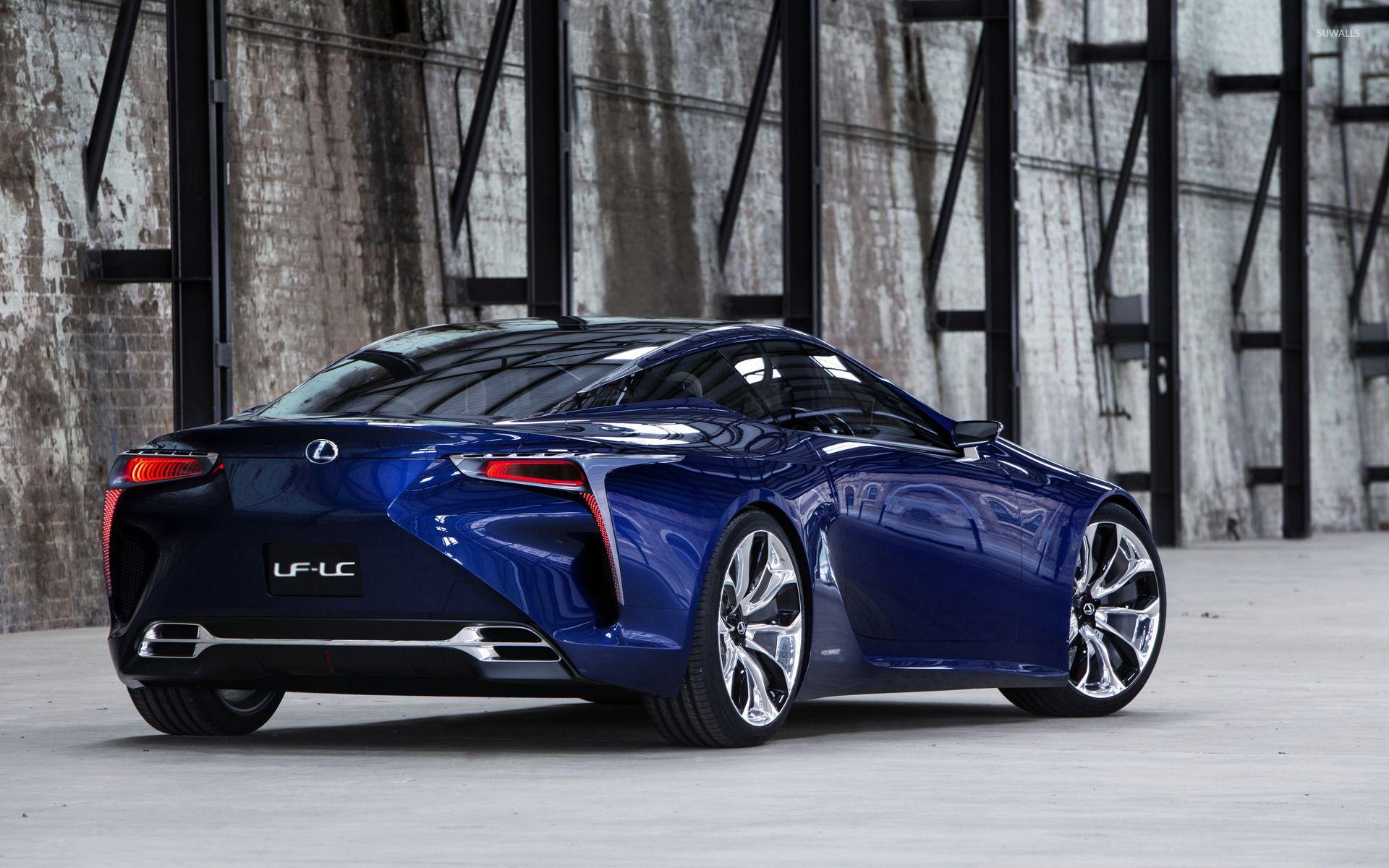 2012 Lexus LF-LC Blue Concept wallpaper - Car wallpapers - #15439
