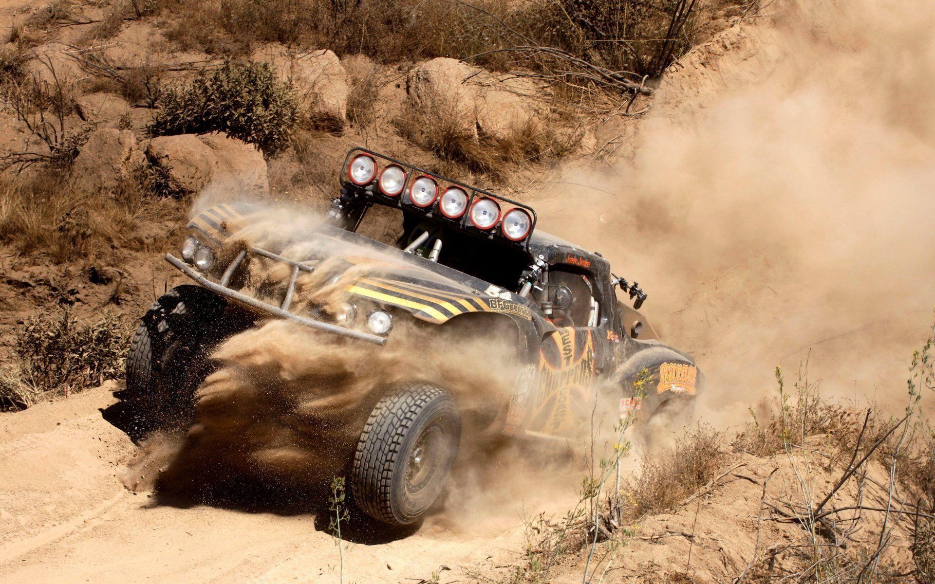 chevy 1500 trophy truck jeep suv race rally desert california ...
