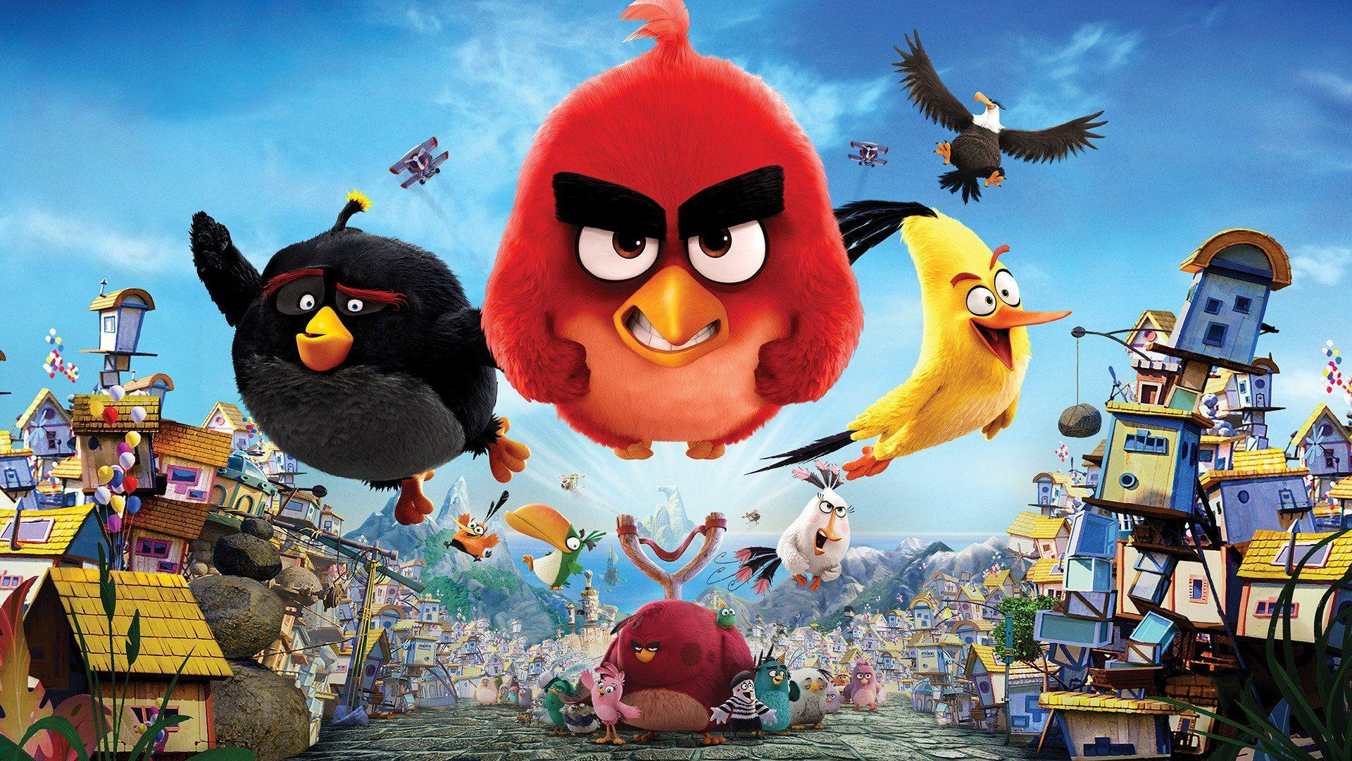 The Angry Birds Movie Wallpapers Wallpaper Cave