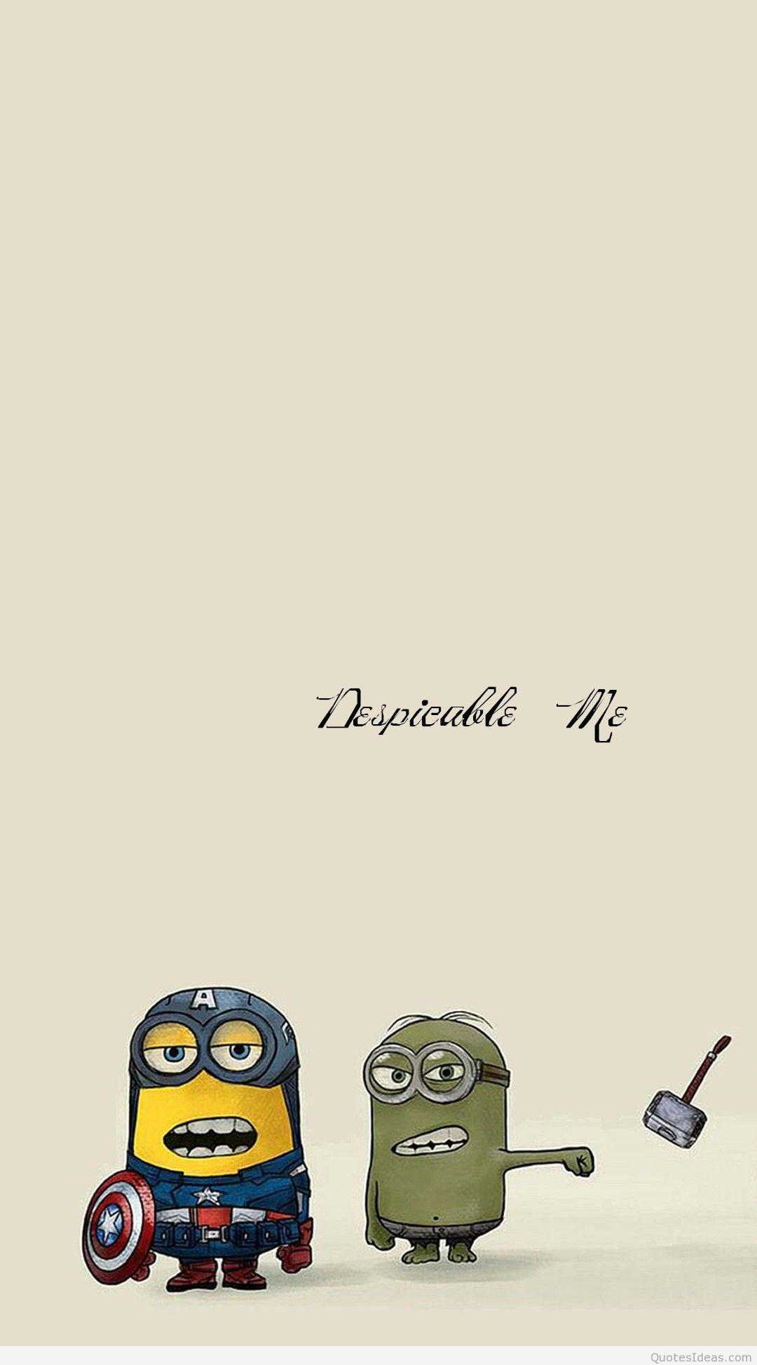 Minion Quotes Wallpapers Wallpaper Cave