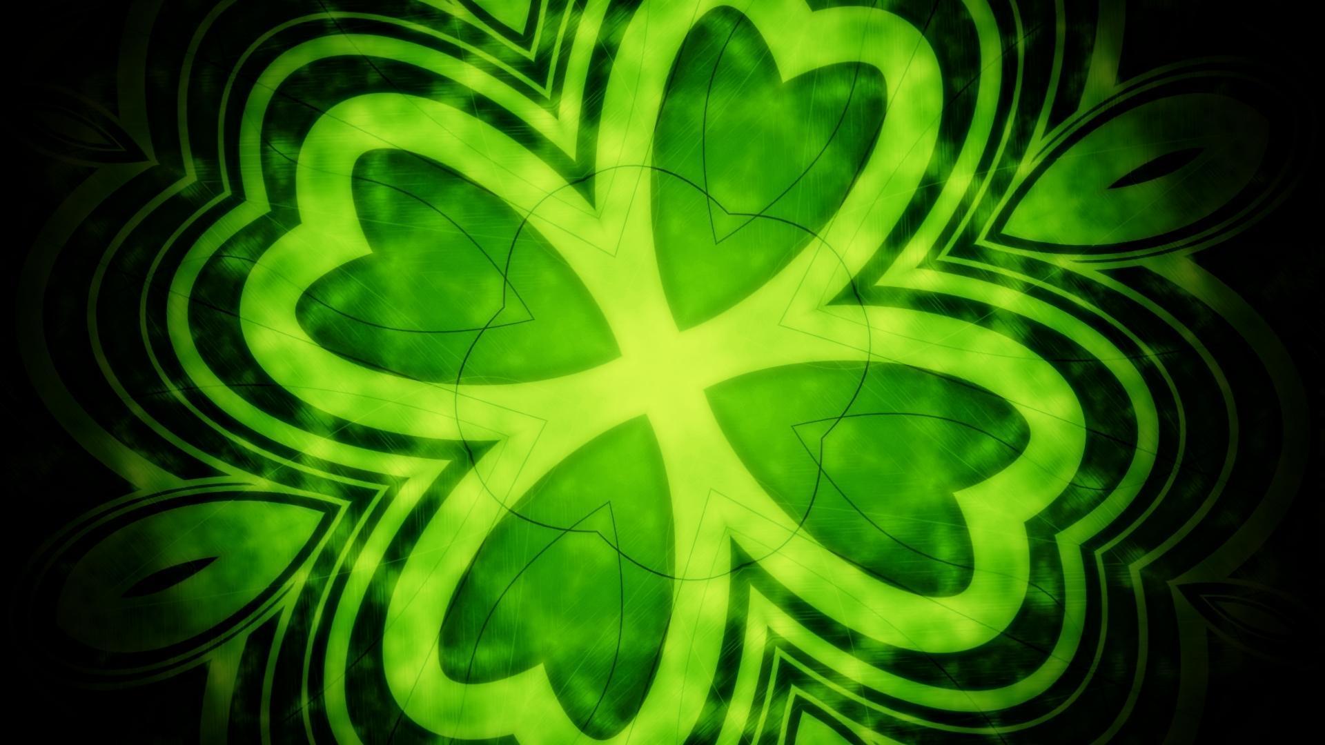Green Shamrock HD Wallpaper | 1920x1080 | ID:14813