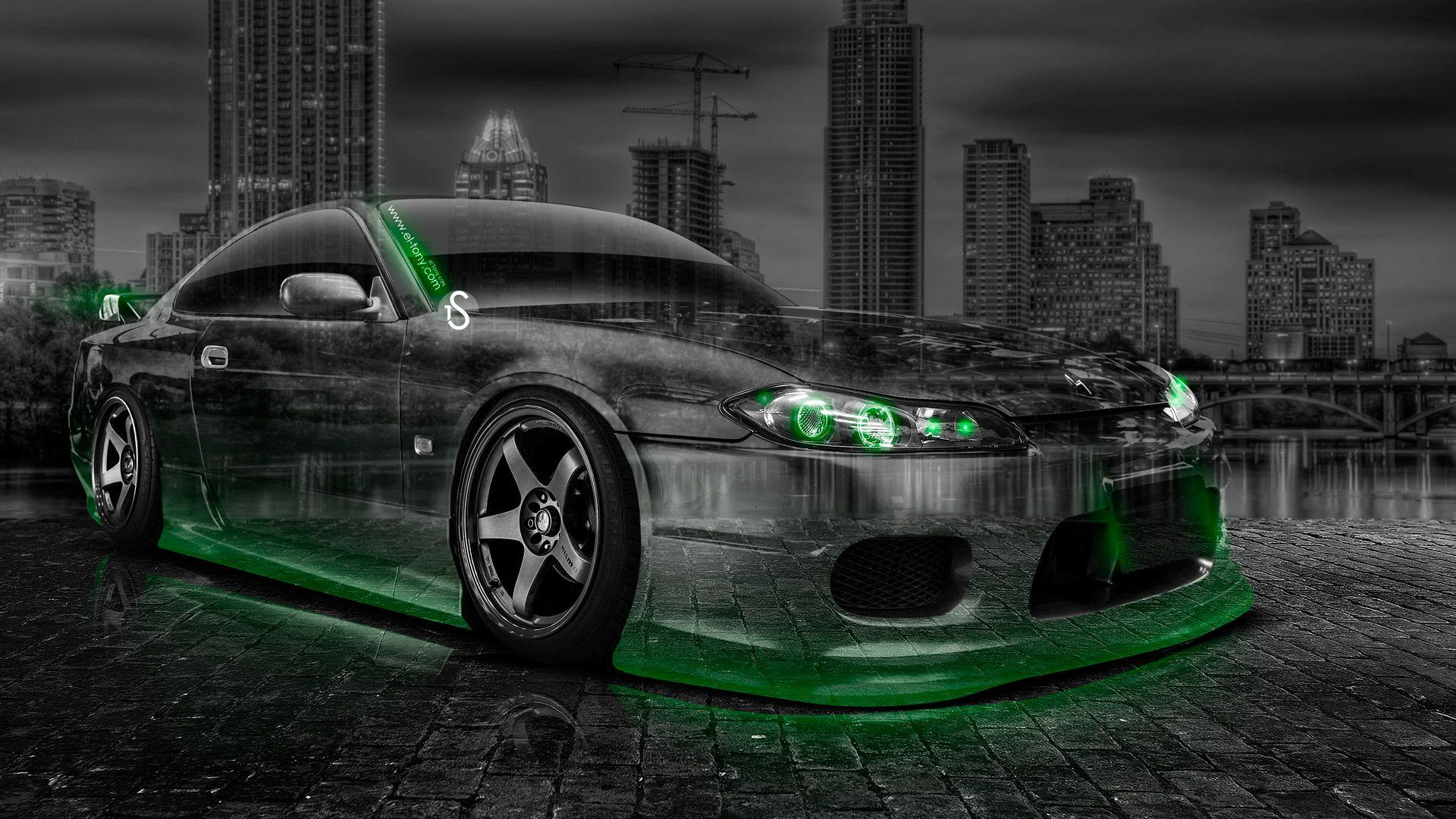 Incroyable Nissan Silvia S15 JDM Crystal City Car 2014 | El Tony