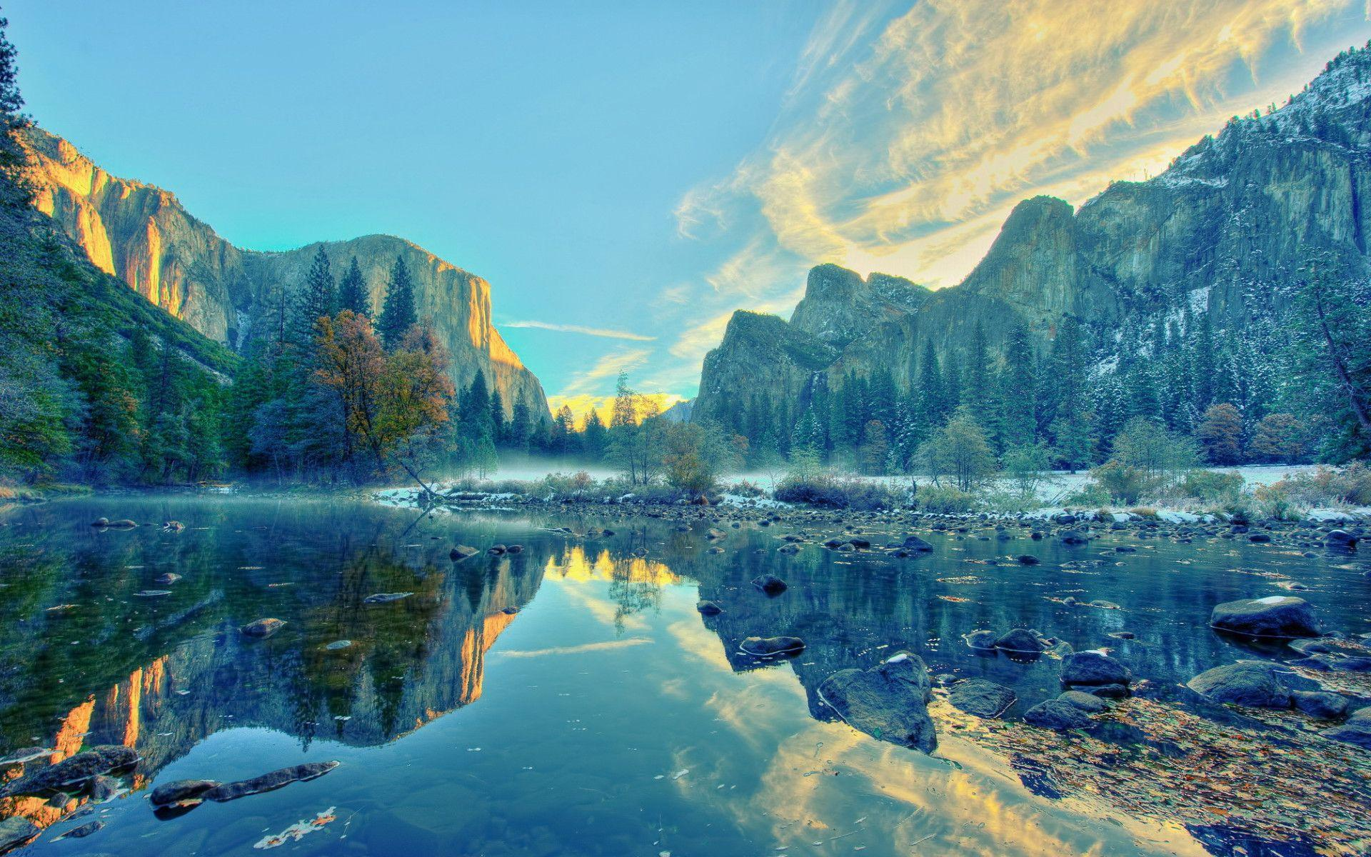 Calming Yosemite National Park wallpapers