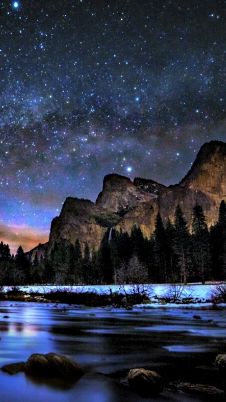 Way peaceful sky lovely yosemite national park wallpapers