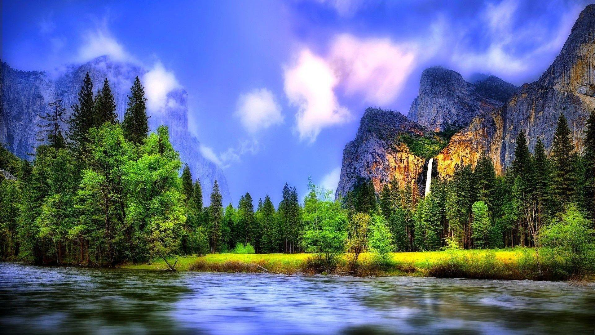 yosemite national park wallpapers, desktop wallpapers » GoodWP