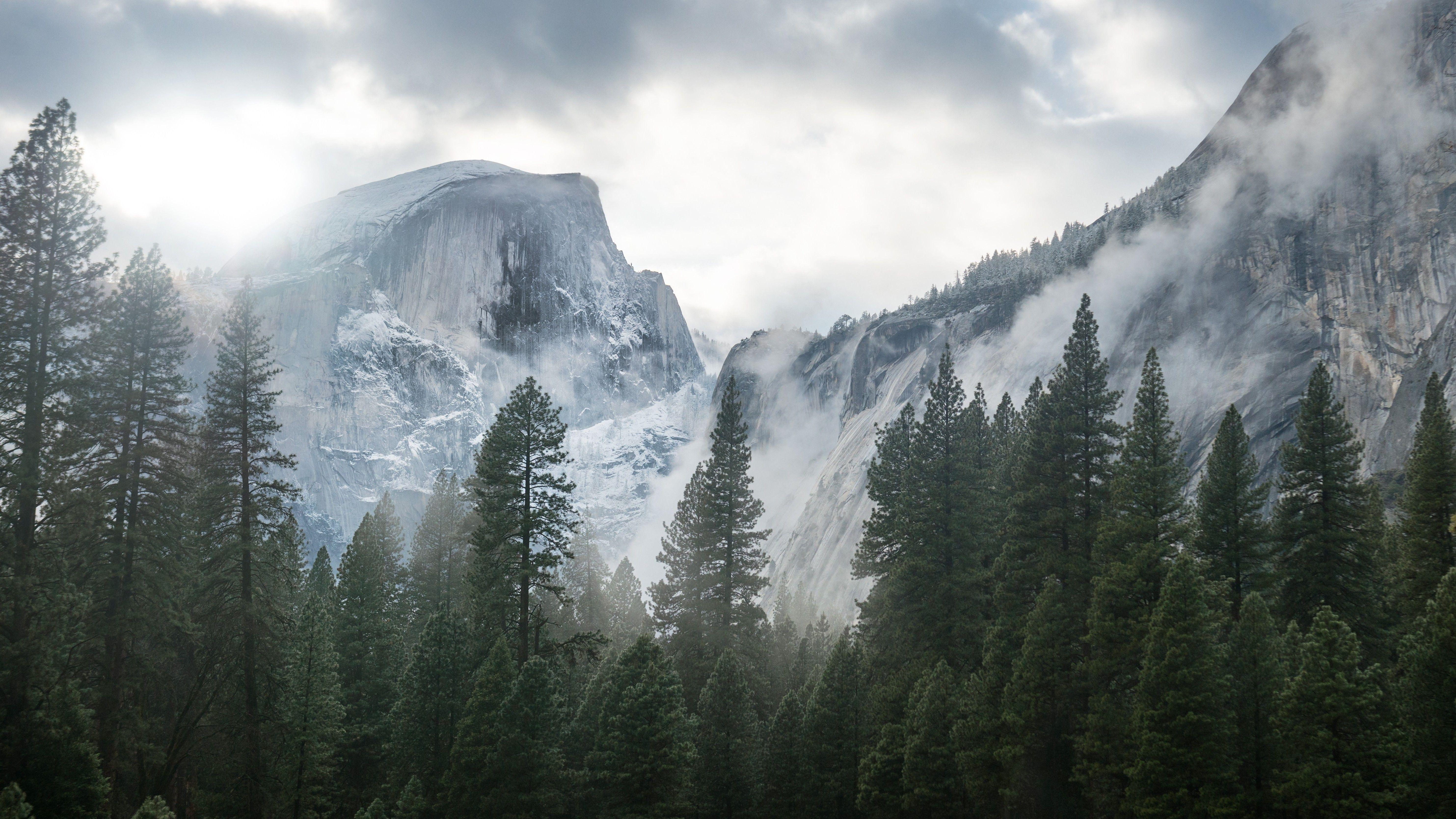 nature, Landscape, Yosemite National Park Wallpapers HD / Desktop