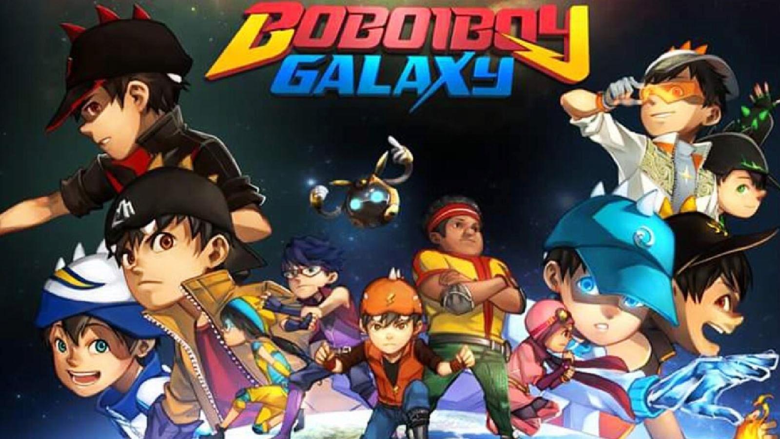 78 Gambar Boboiboy Galaxy Es Terbaik