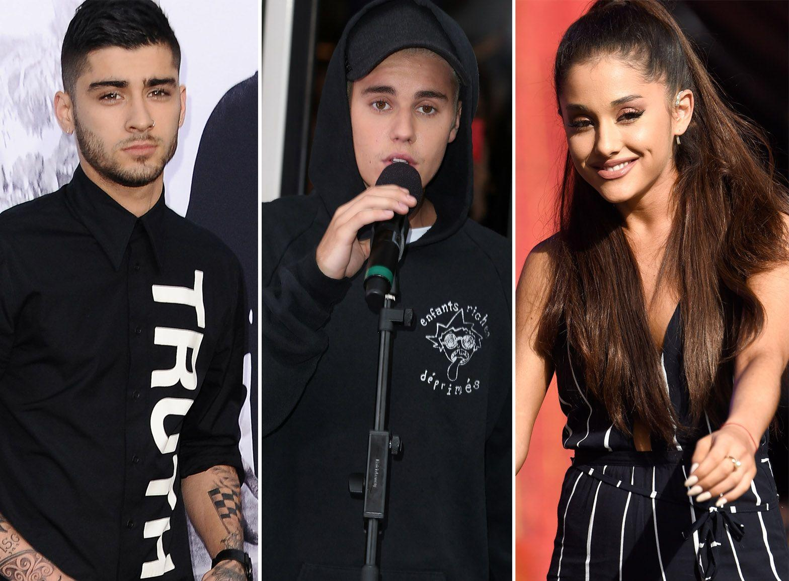 Justin Bieber And Ariana Grande Wallpapers Wallpaper Cave