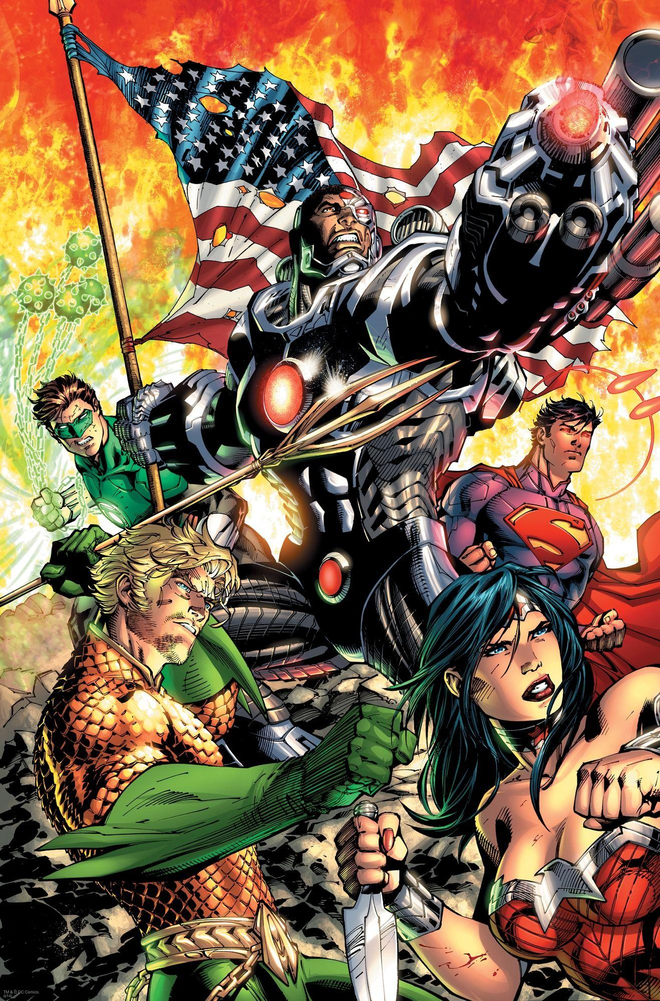 Justice League Wallpaper New 52