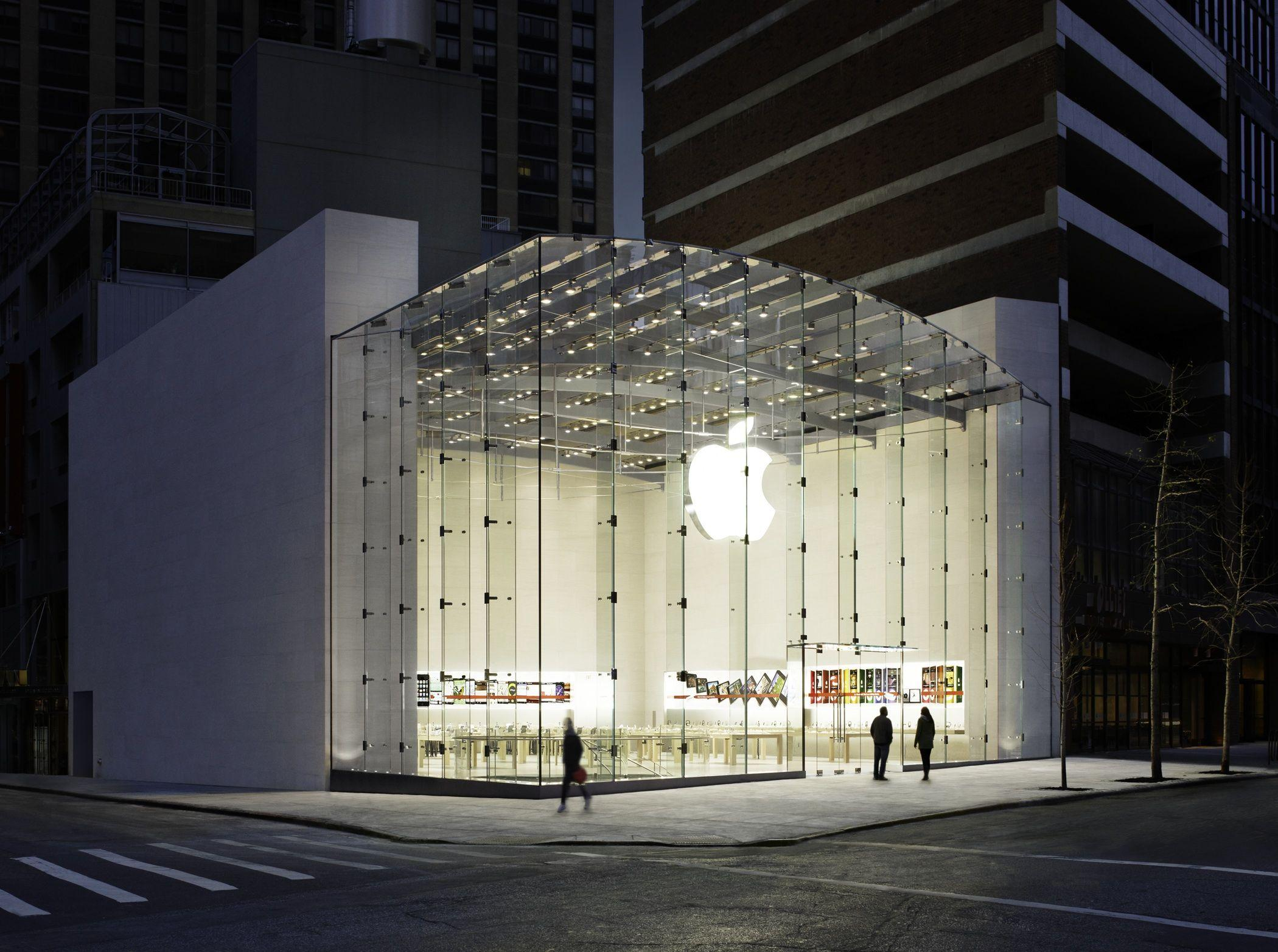 Apple Iphone 5: Apple Store New York