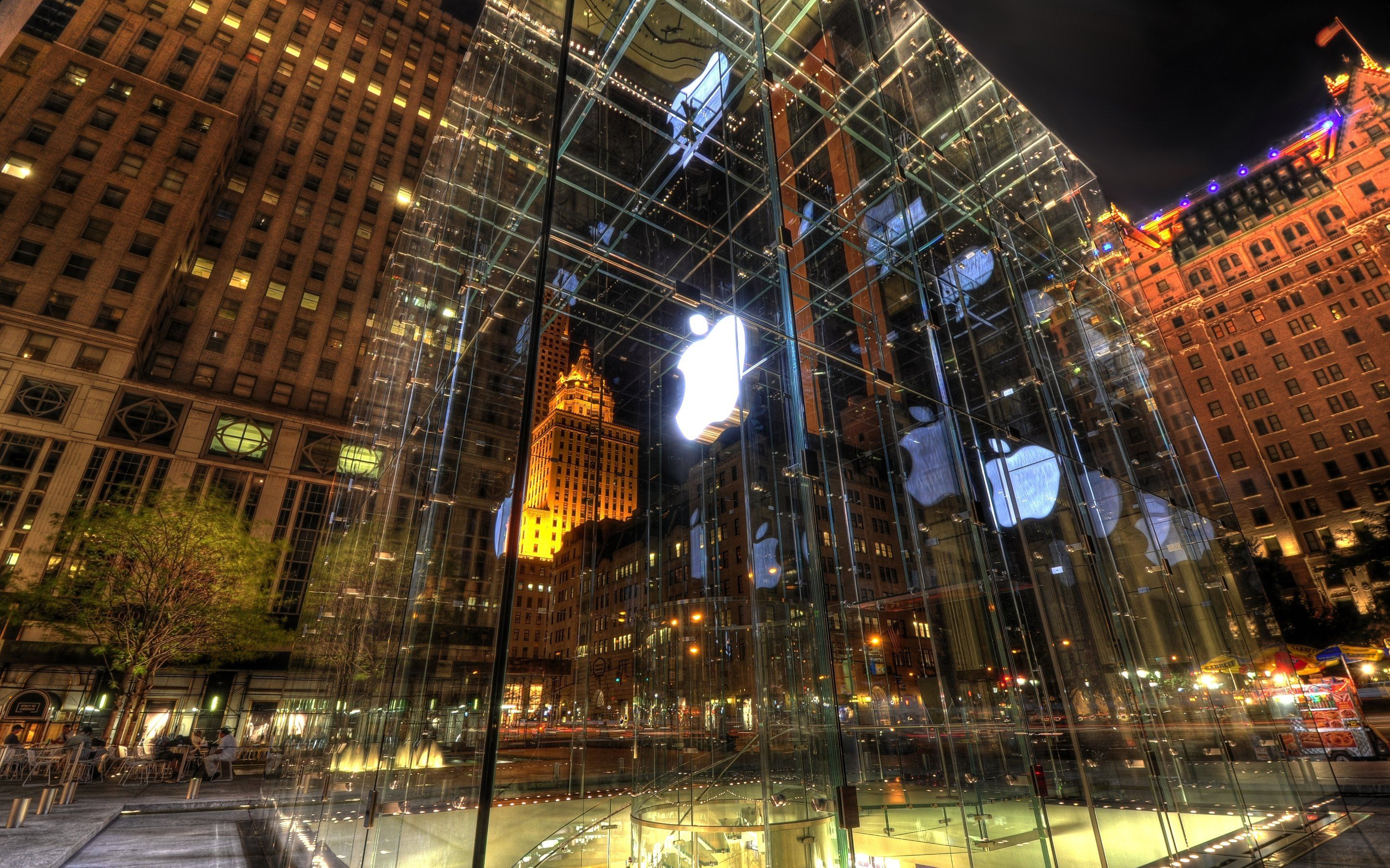 Apple Store on 5th Avenue New York | HD Wallpapers · 4K