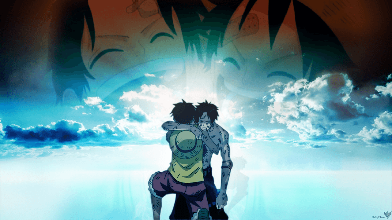 One Piece Luffy And Ace Wallpapers Wallpaper Cave