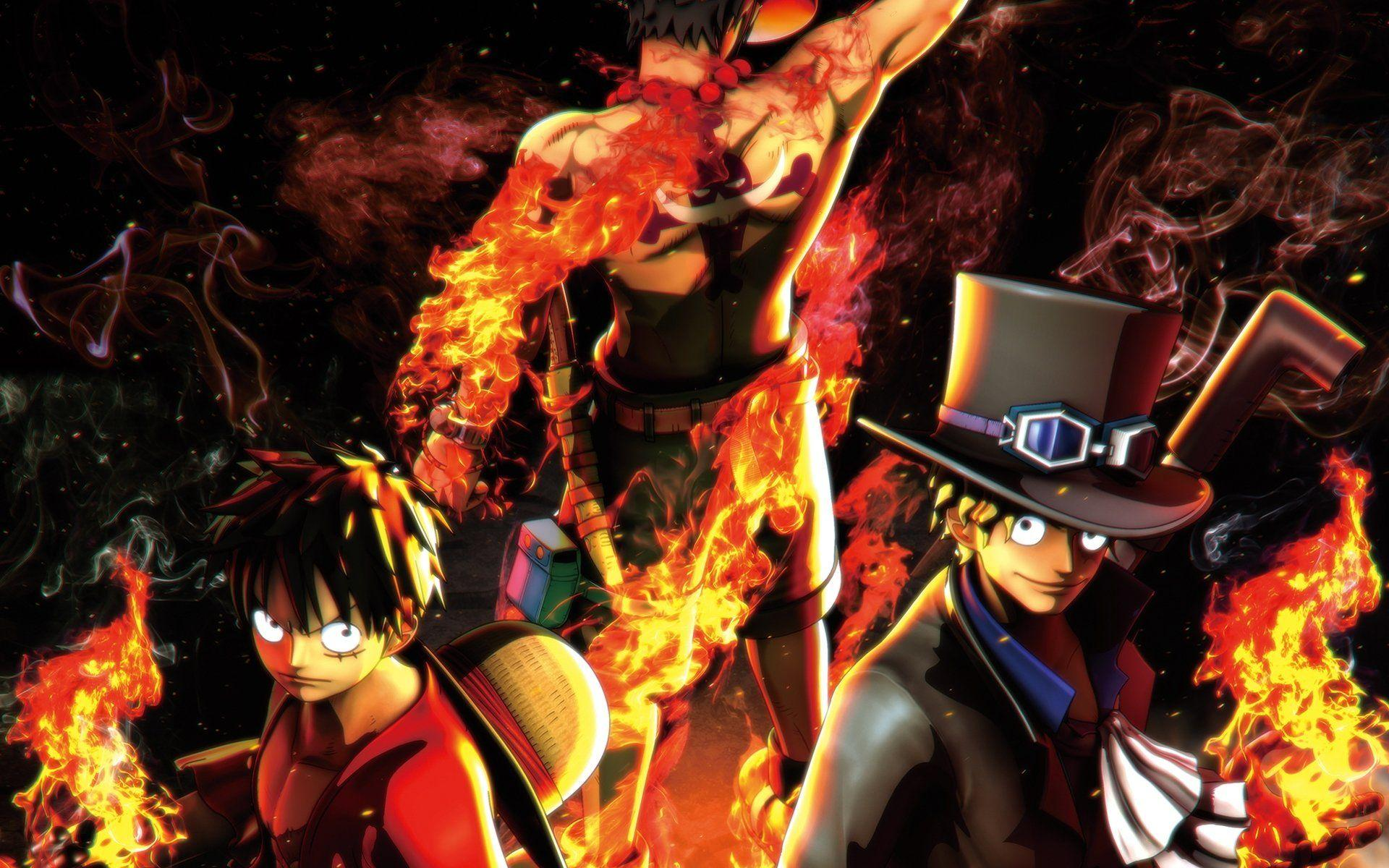 One Piece Luffy And Ace Wallpapers
