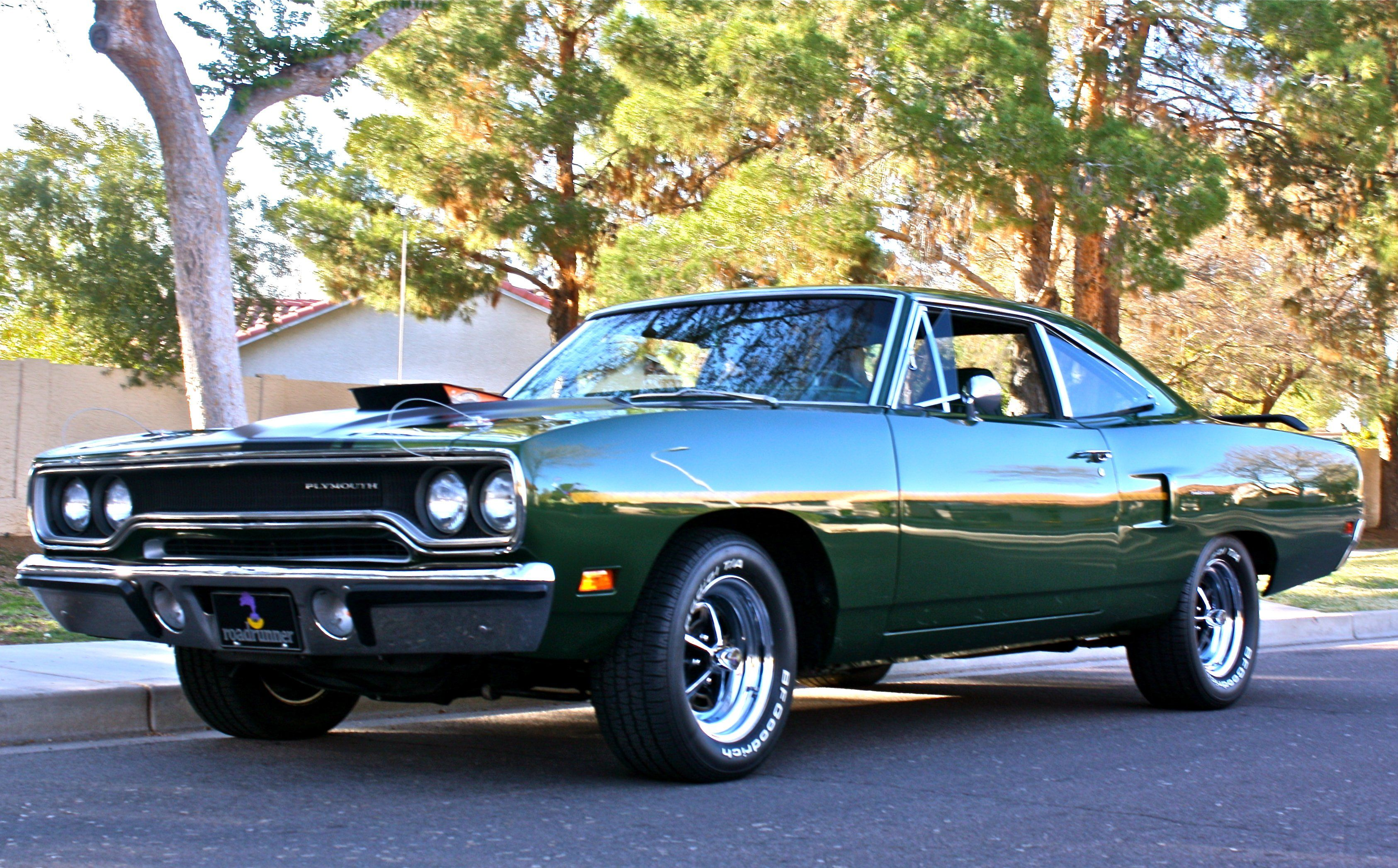 1970 classic muscle plymouth road runner wallpaper | 3371x2093 ...
