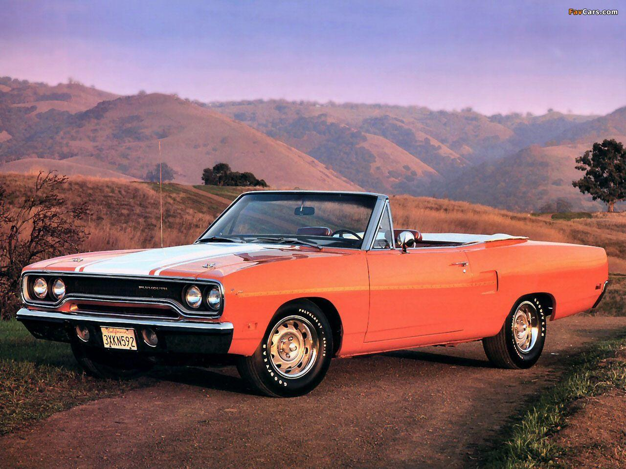 of Plymouth Road Runner Convertible 1970