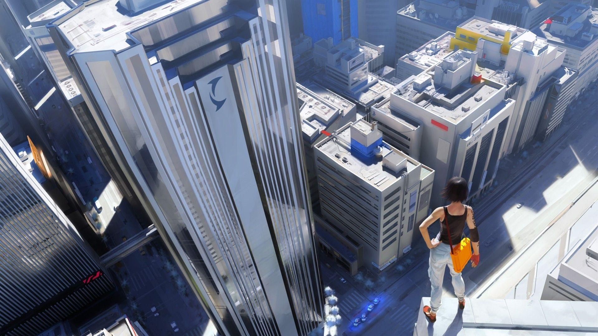 Video games Mirrors Edge parkour freerunning wallpaper | 1920x1080 ...