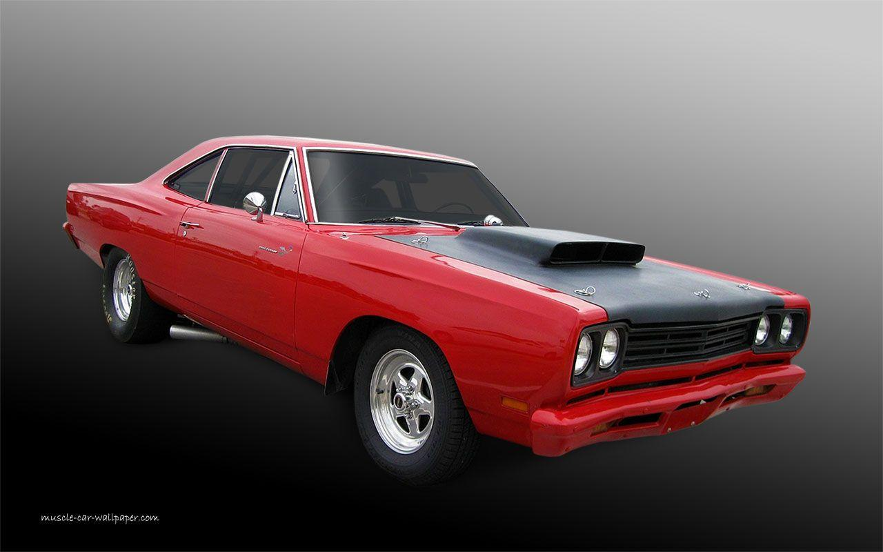 1969 Plymouth Road Runner Wallpaper | Muscle Car Wallpaper