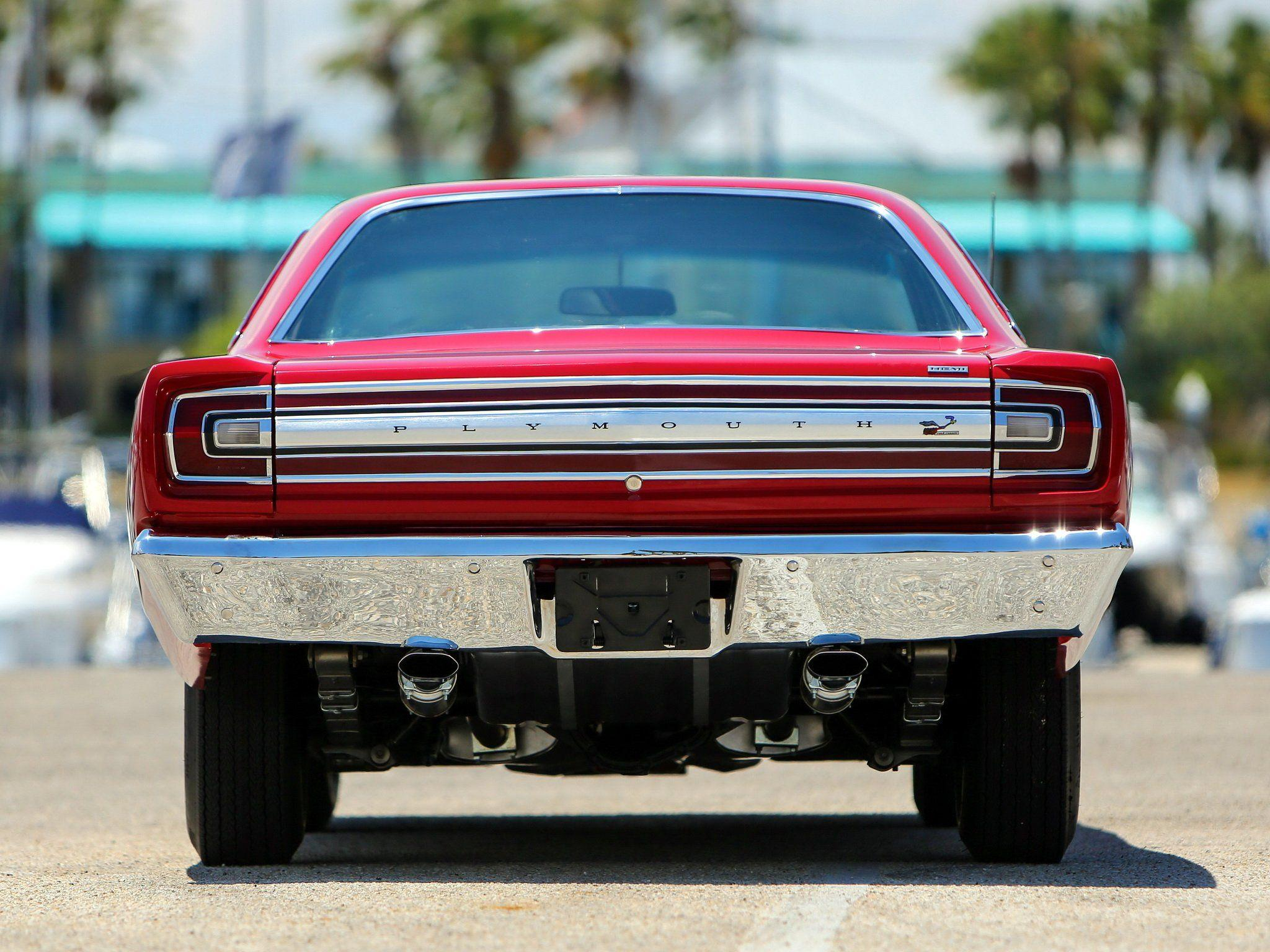 1968 Plymouth Road Runner 426 Hemi Coupe (RM21) muscle classic g ...