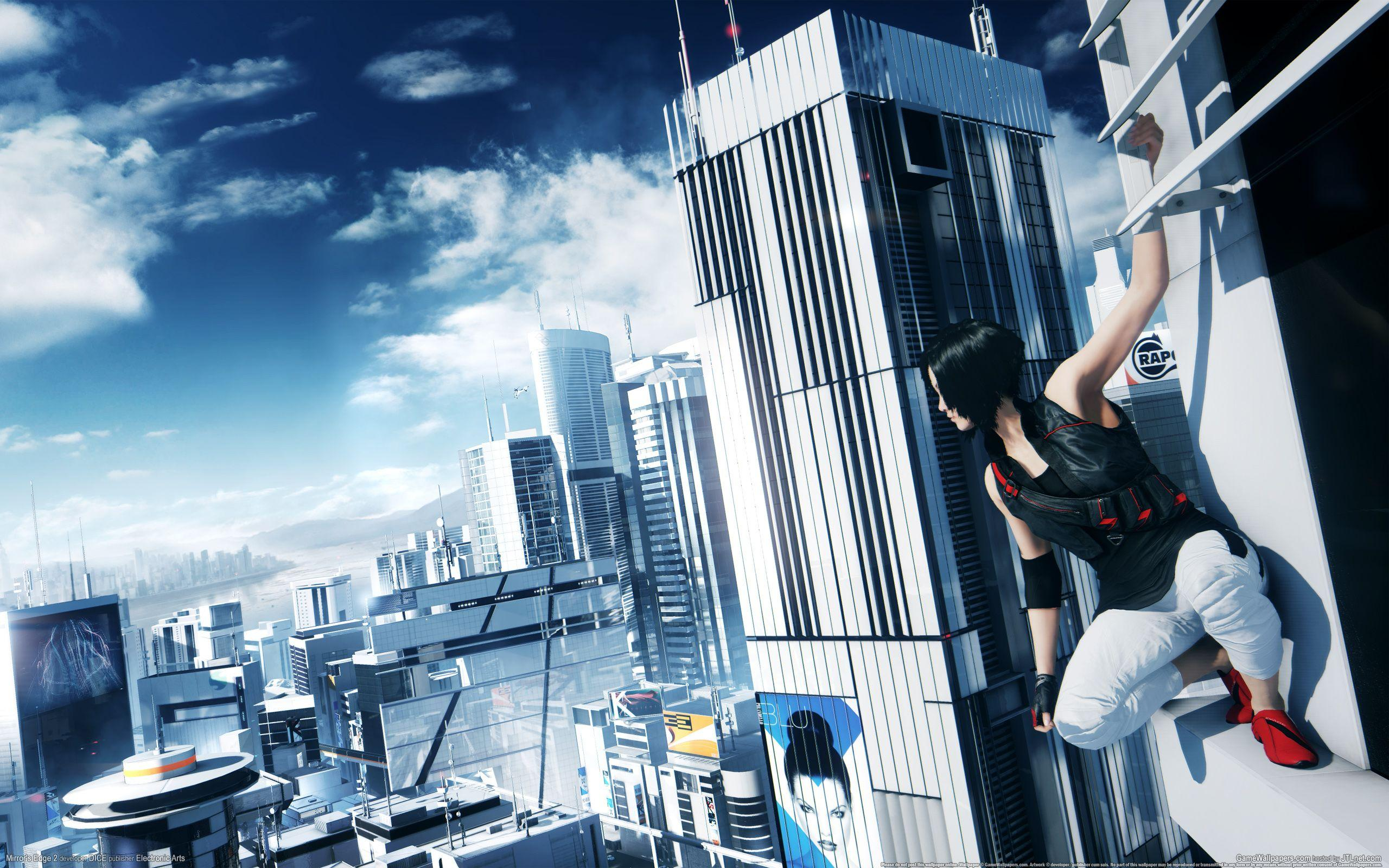 Free-Running Expert Channels Mirror's Edge in POV Video