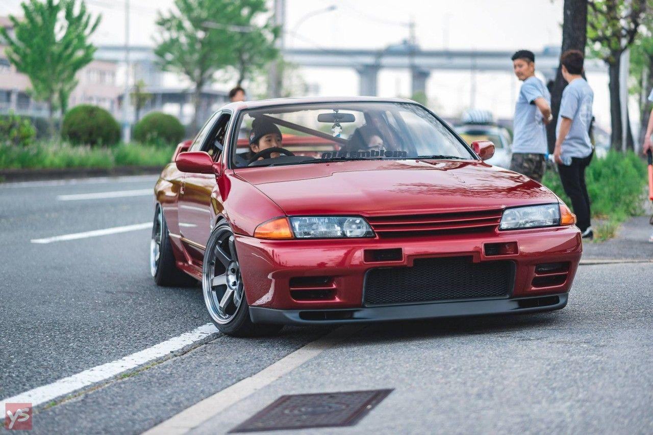 people, Car, Nissan Skyline R32, Stance, Tuning, Lowered, Road ...