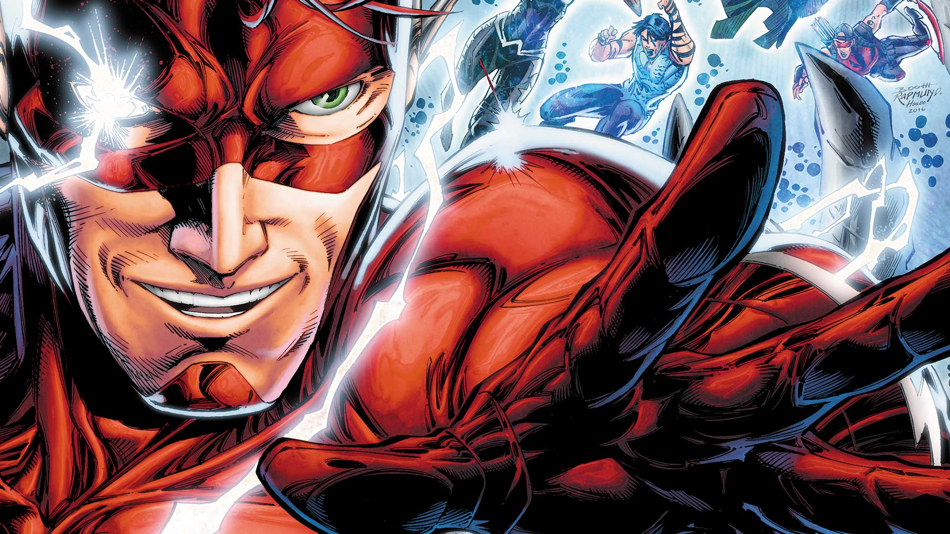 Backgrounds For Wally West Backgrounds