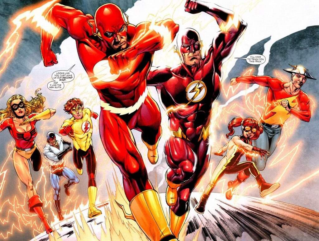 How i thing wally west will apear