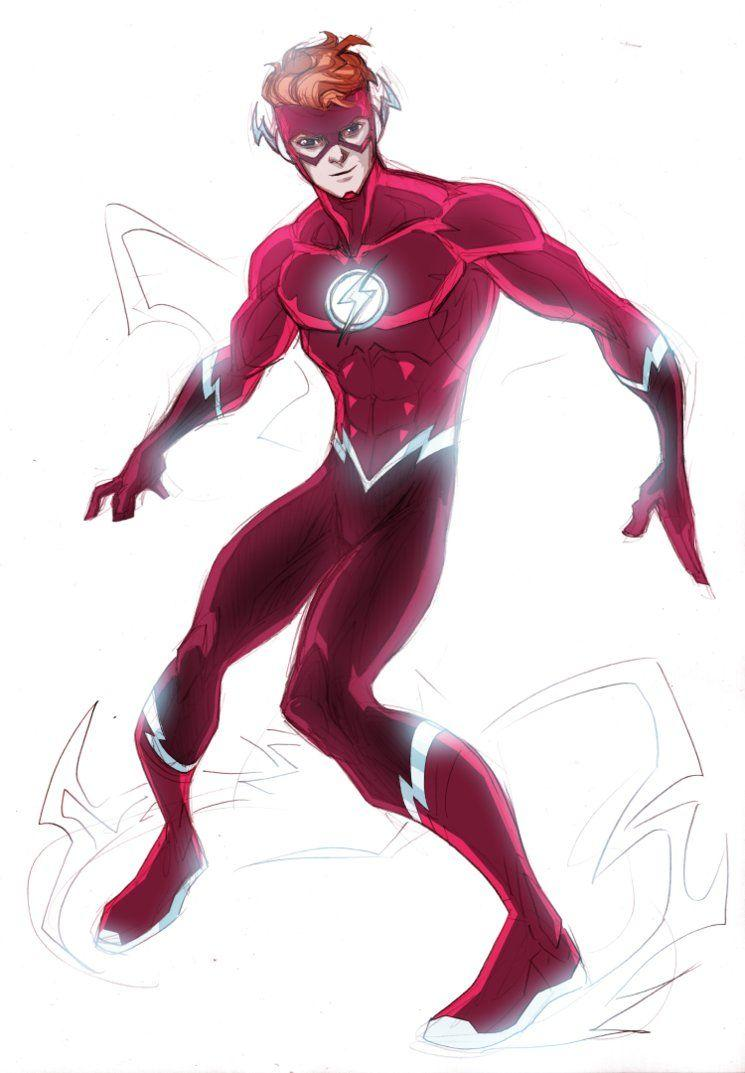 Flash Rebirth by LucianoVecchio