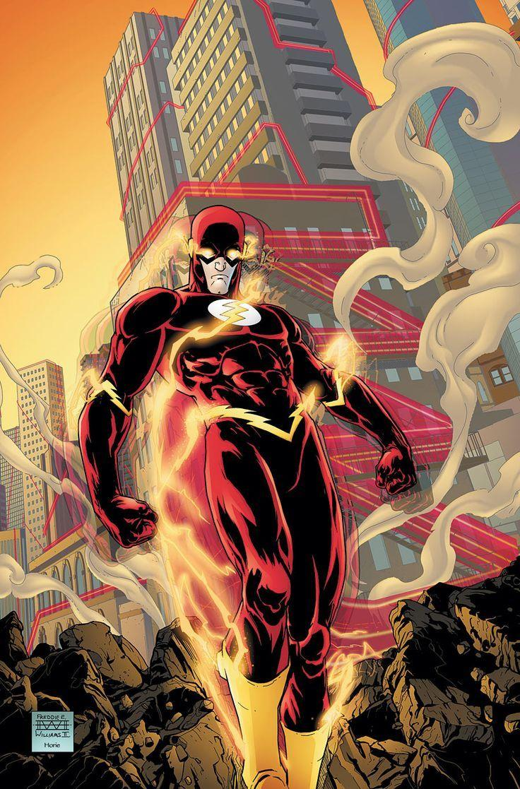 135 best Wally West image