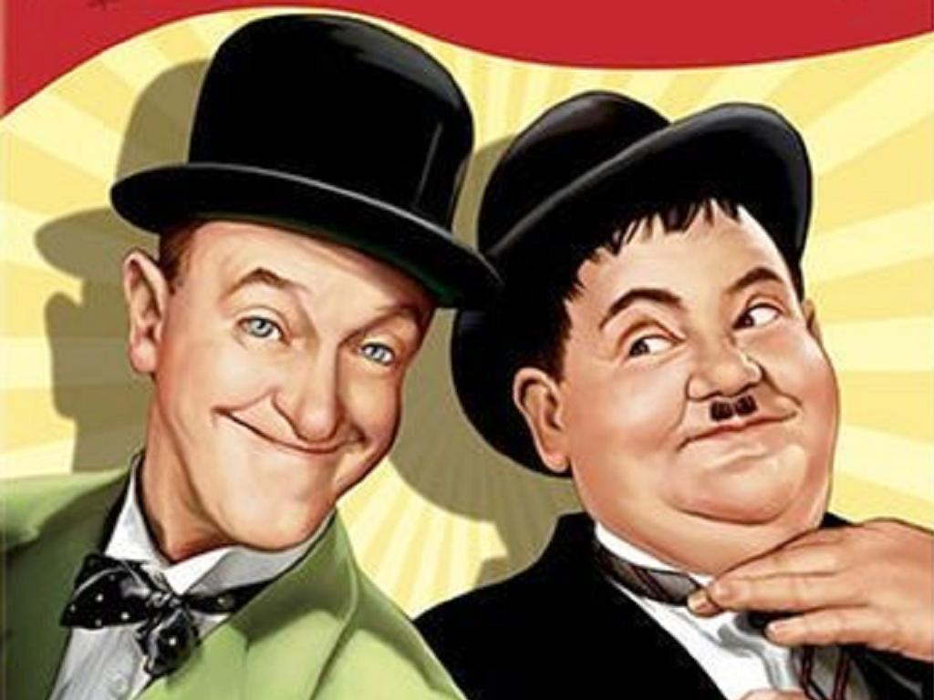 Laurel and Hardy made over 100 films together, initially two ...