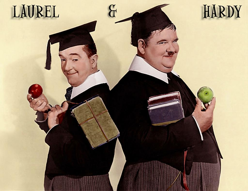Laurel and Hardy Ringtomes and Wallpapers