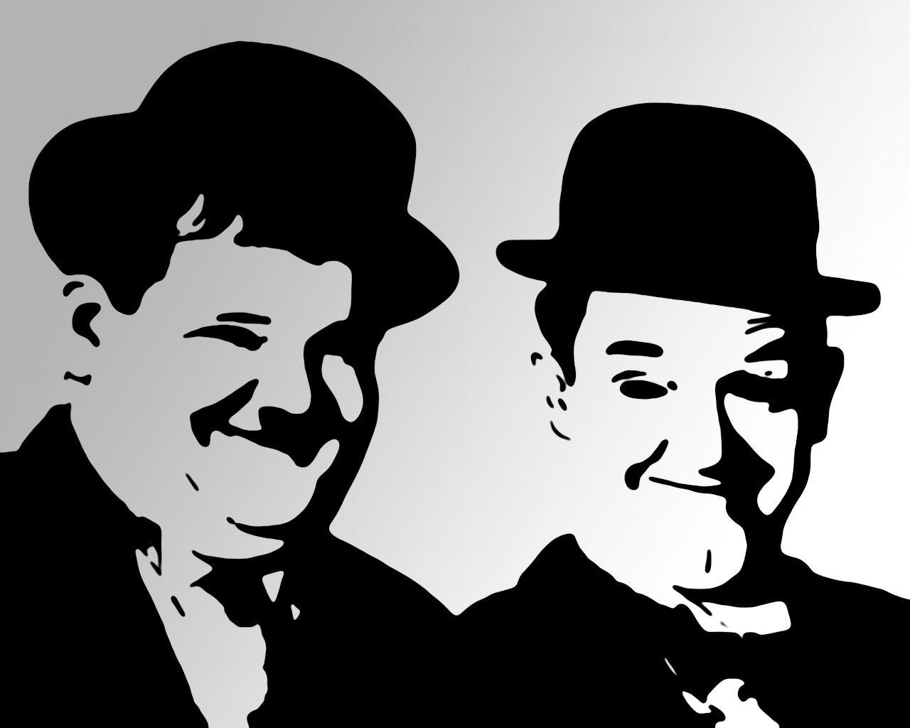 laurel and hardy by spil on DeviantArt