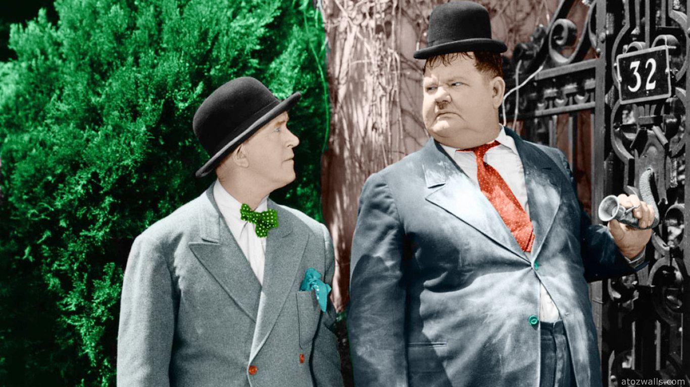 laurel and hardy the big noise HD wallpaper download