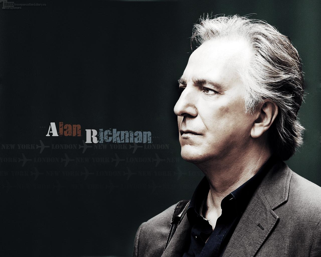 Alan Rickman - Alan Rickman Wallpaper (12842245) - Fanpop