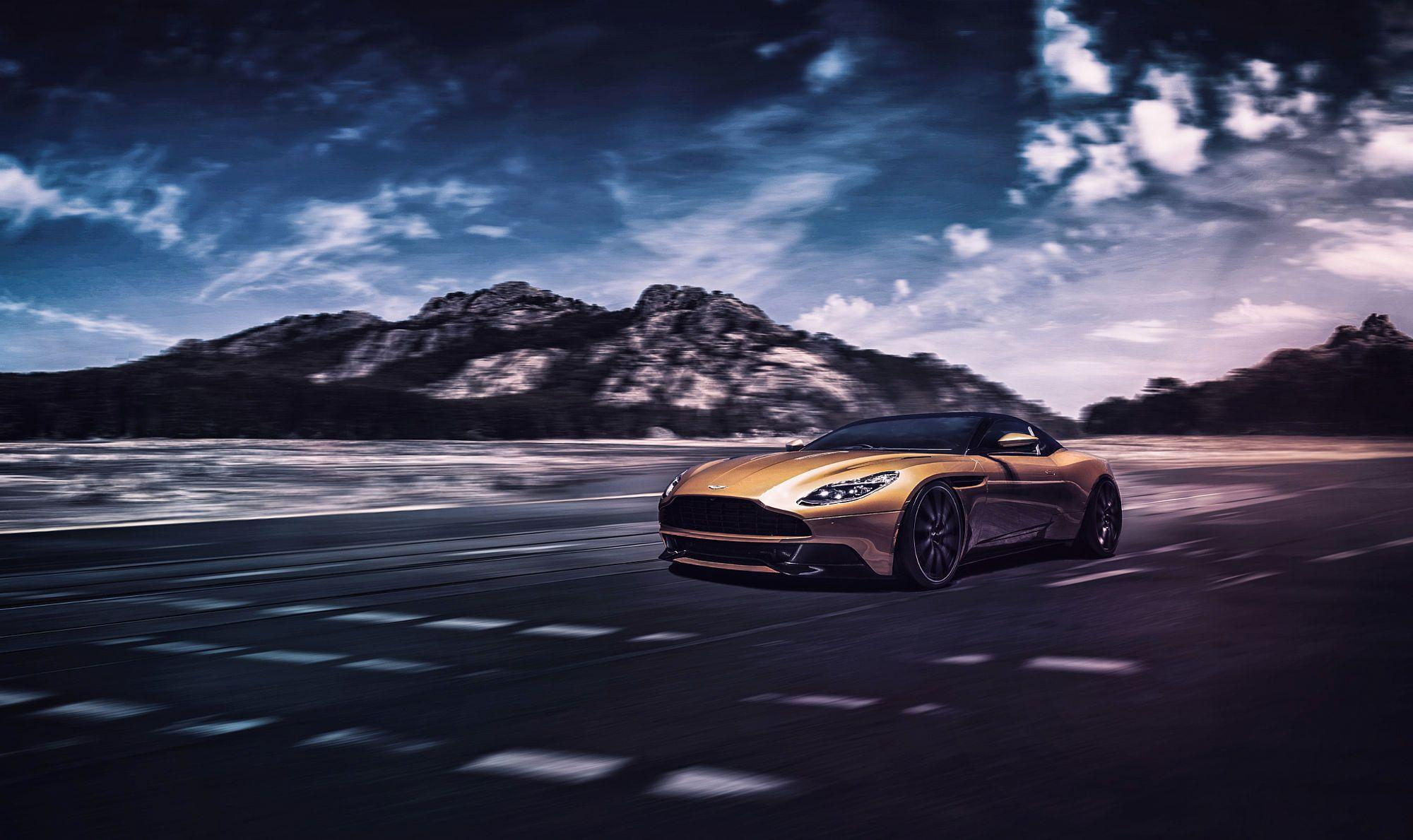 16 Aston Martin DB11 HD Wallpapers | Backgrounds - Wallpaper Abyss
