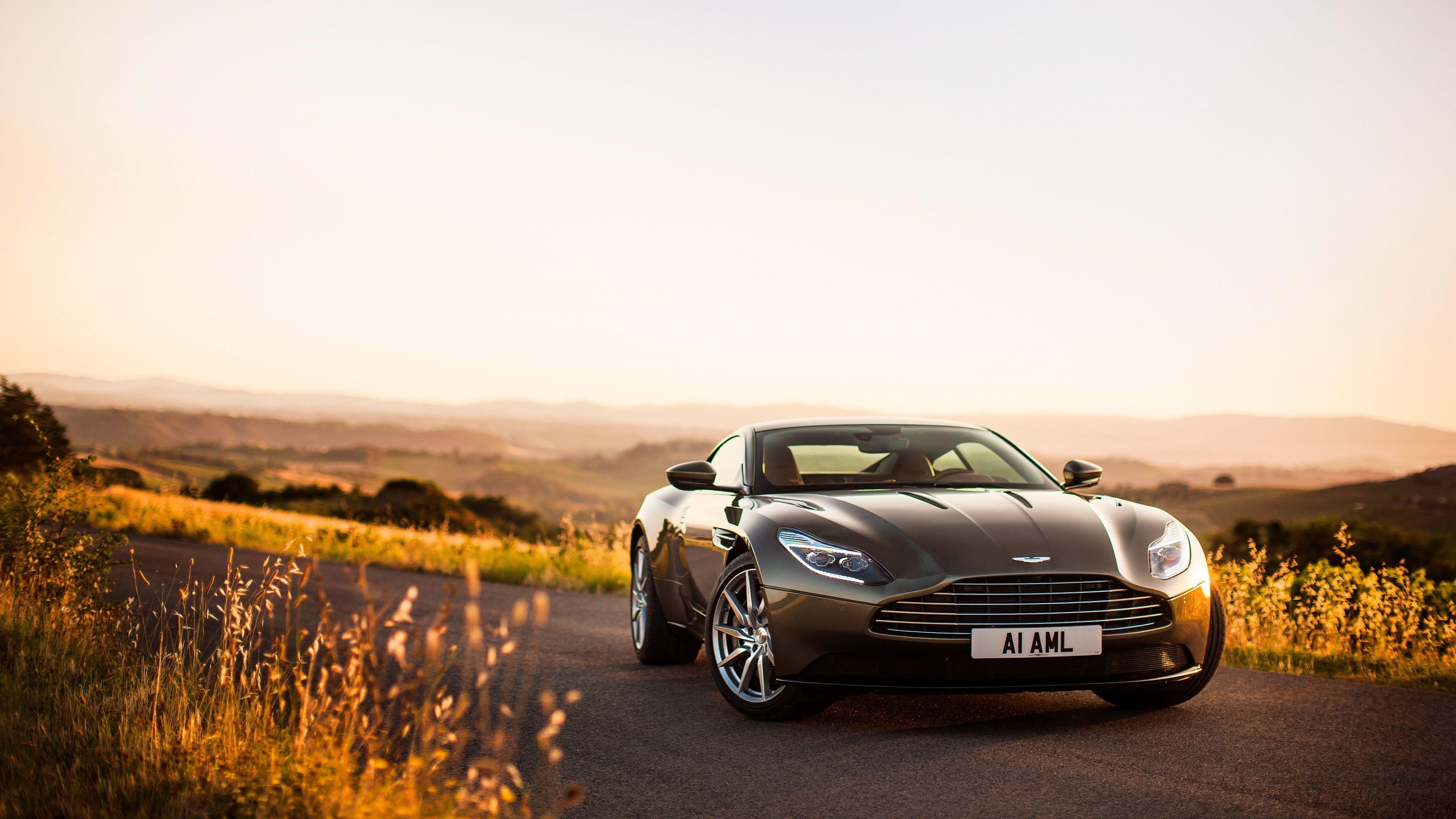 Download Wallpapers 3840x2160 Aston martin, Db11, Front view 4K