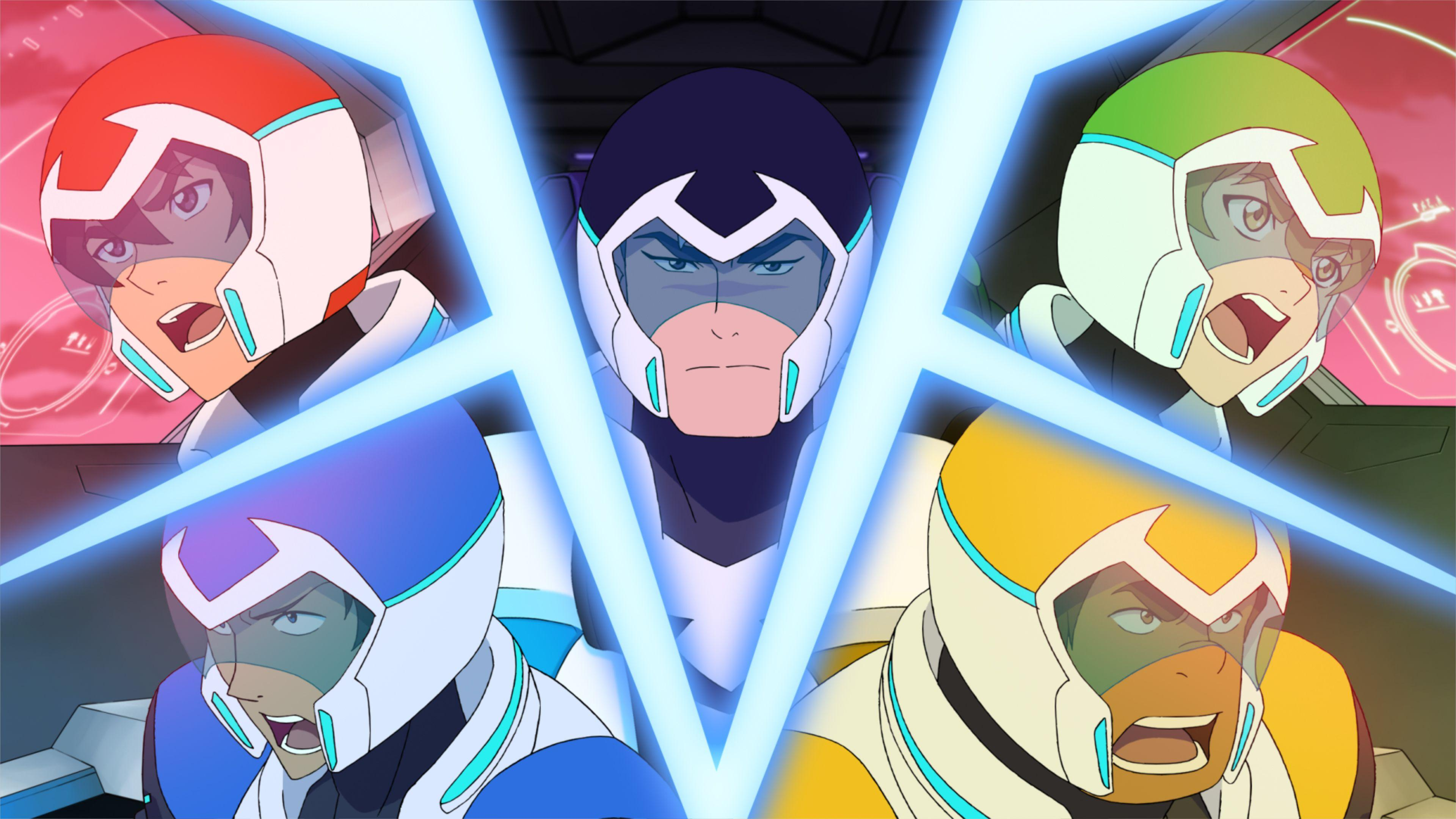 Voltron Legendary Defender Image Reveal the New Team