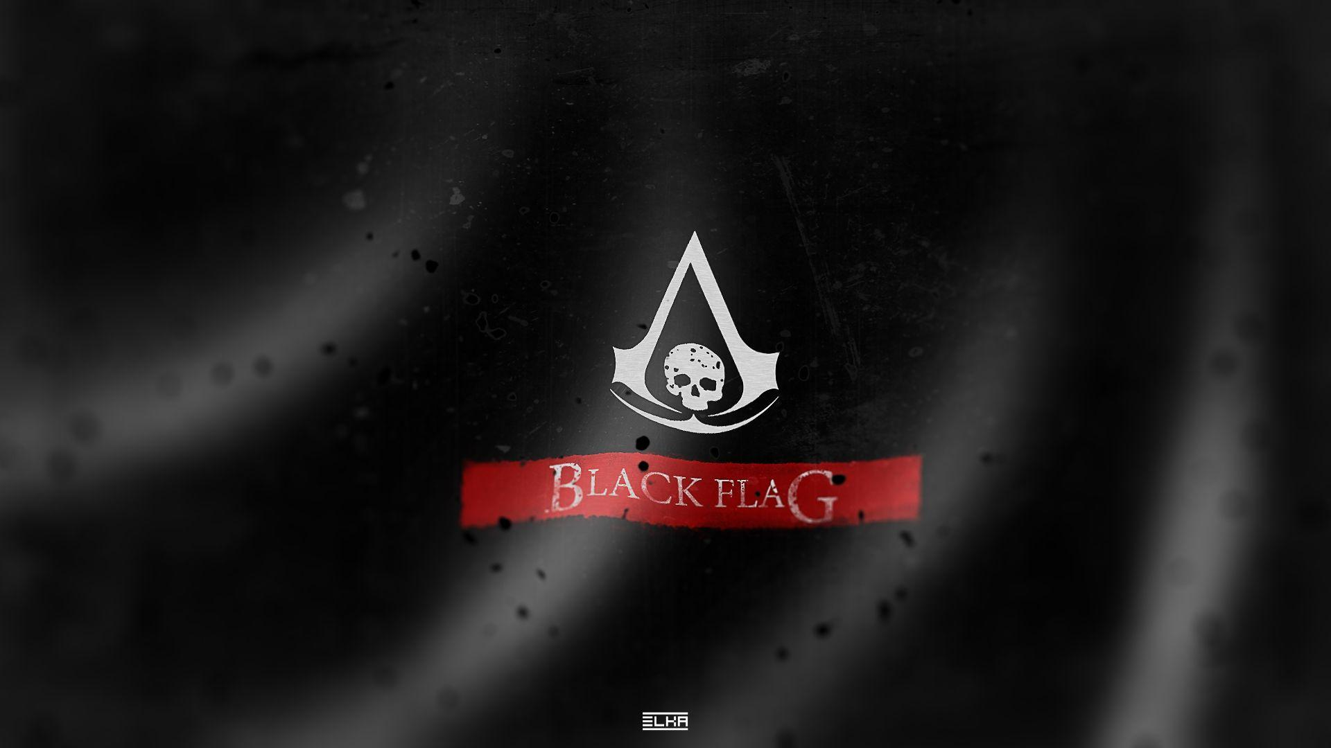 Assassins Creed 4 Black Flag Logo Wallpapers