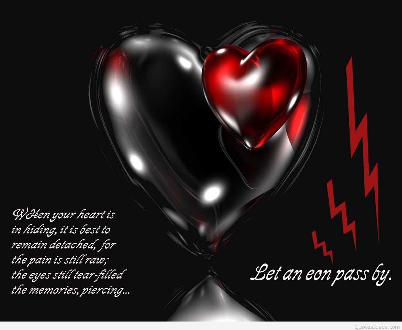 Broken Heart Sad Quotes With Wallpapers Images Hd 2016: Broken Heart Wallpapers HD