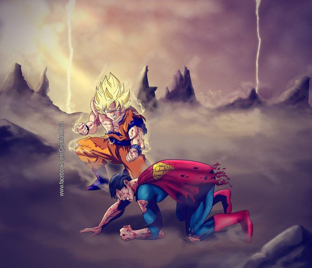 Goku Vs Superman Wallpapers - Wallpaper Cave