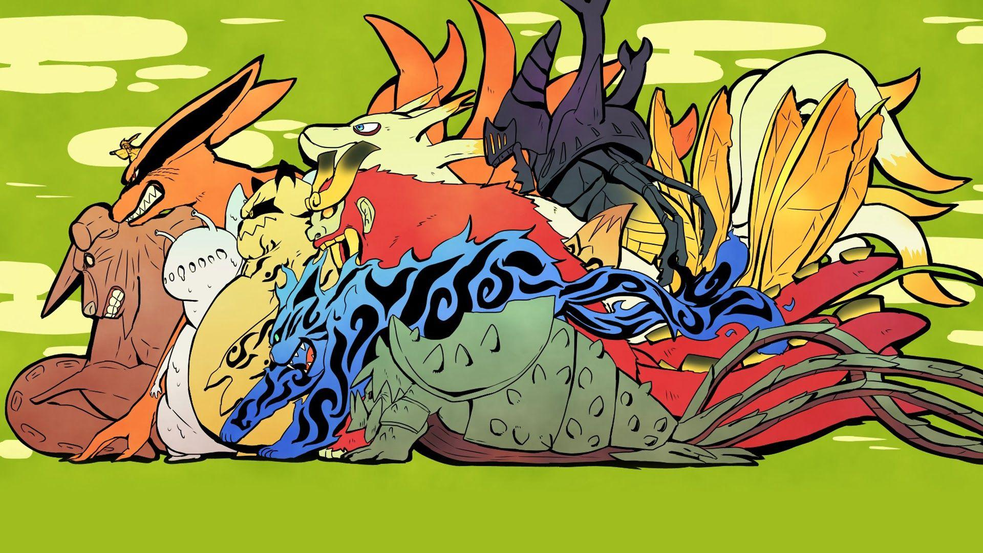 0 Tails Naruto tailed beasts wallpapers - wallpaper cave